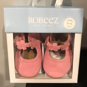 New Robeez Claire Mary Jane - Pink